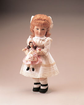 "The molded felt ""Emily and The Enchanted Doll"" was released in 1984 in an edition of 150."