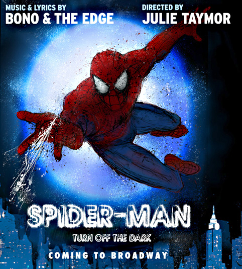 Fly Boy: Broadway's Spider-Man needs to be toyed with.