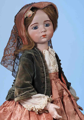 Rare 1914 bisque doll sells for $168,000 at Frasher's auction