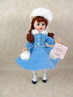 """Classic McGuffey Ana,"" the souvenir doll from the Lissy Luncheon."
