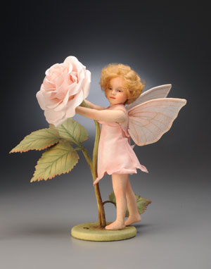 """Rose Fairy,"" a new addition to the Flower Fairy series, was available for purchase at the Valentine's Day High Tea."