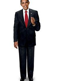 Inauguration Ideal: Obama Dolls venerate the highs and lows of the highest office in the land.
