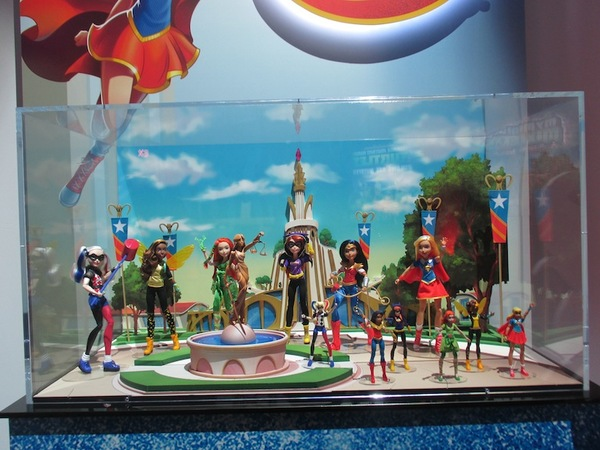Swooning for Superheroes? They're soaring everywhere at Toy Fair