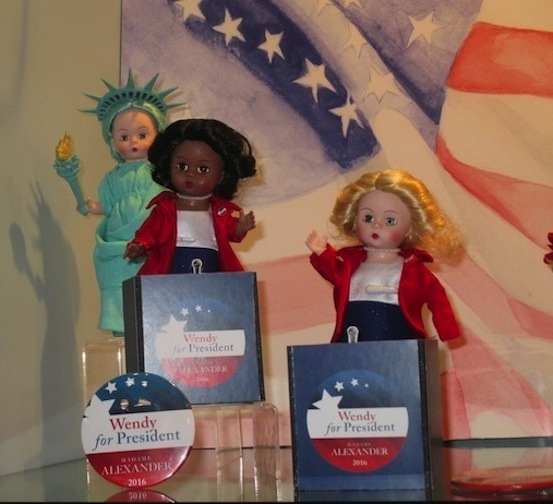 Toy Fair: Entering the presidential race, doll candidates have something to say about US, us!
