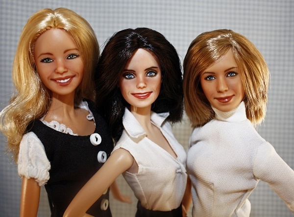 Monica-Phoebe-and-Rachel-dolls-friends