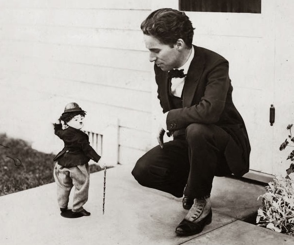 5 Charlie Chaplin and tramp doll 1917