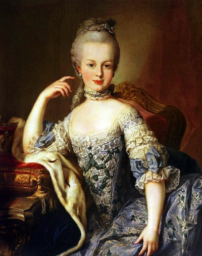 Marie Antoinette at age 12