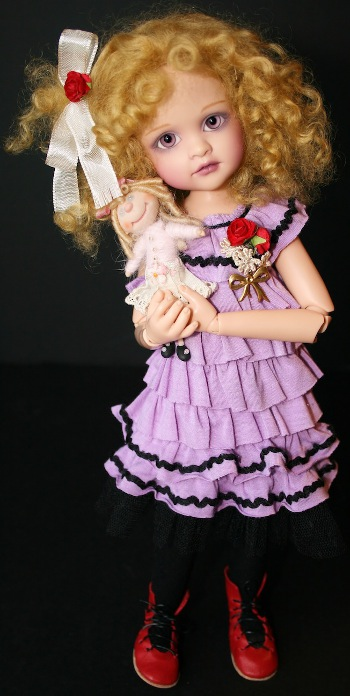 Lorella Falconi pt. 2: Dolls that blend vintage purity, visionary splendor