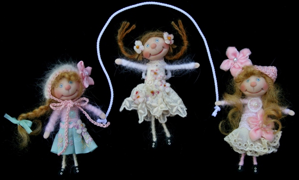 Fragile but Fierce: Lorella Falconi's dolls embody a rainbow of feelings