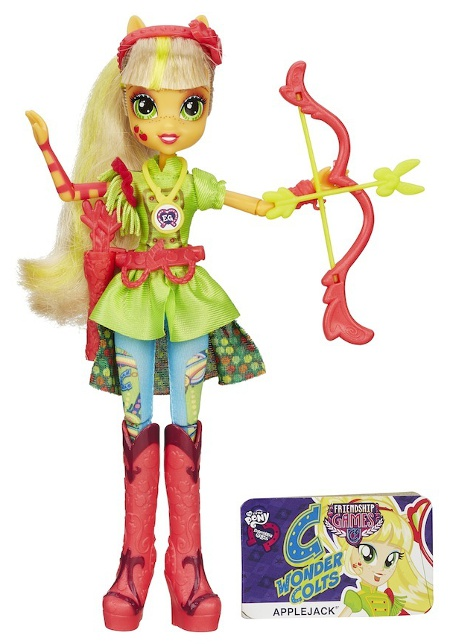 My Little Pony Equestria Girls Wondercolts Sporty Style Deluxe Doll- Applejack