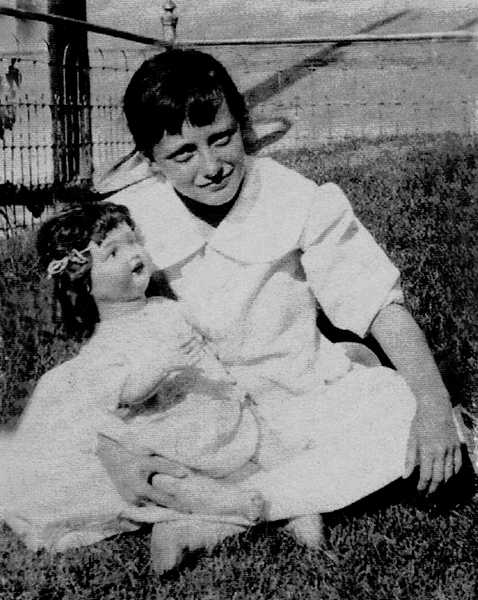 Joan Crawford Childhood Doll