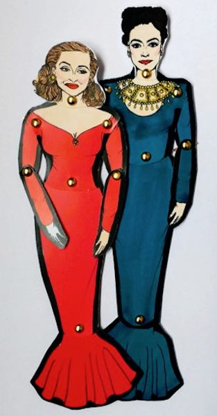 Joan Crawford Paper Dolls  sc 1 st  DOLLS Magazine & Joan Crawford and Bette Davis Dolls - Their Feud and Lives Discussed ...