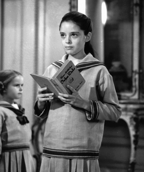 Angela Cartwright as Brigitta.