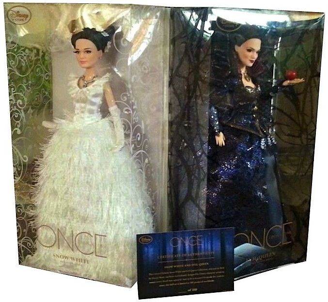 D23 dolls in their licensed, highly sought-after packaging.