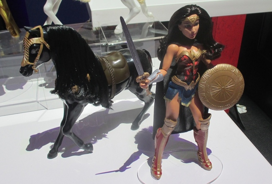 Mattel's Wonder Woman movie doll