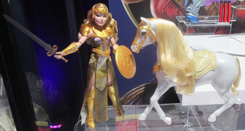 Queen Hippolyta, as seen at 2017's Toy Fair.