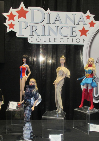 Robert Tonner's Diana Prince (aka Wonder Woman) collection, at Toy Fair 2015.