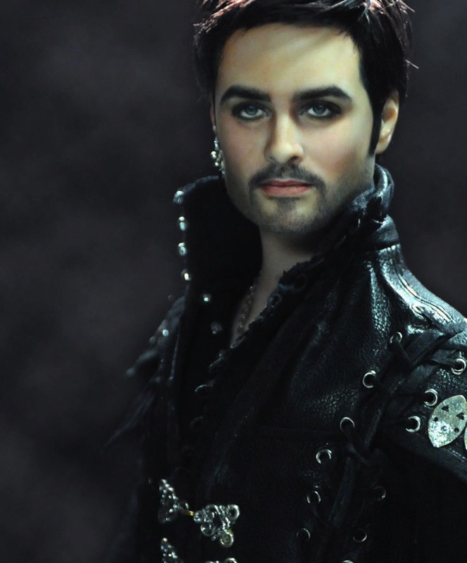 Noel Cruz's repaint of a Captain Hook doll.