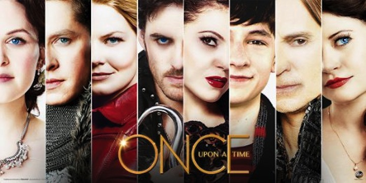 The OUAT cast, which had been growing larger every season.