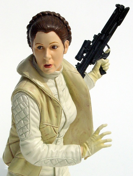 Gentle Giant's mini bust of Leia