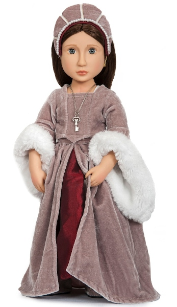 Matilda, the girl from the Tudor times.