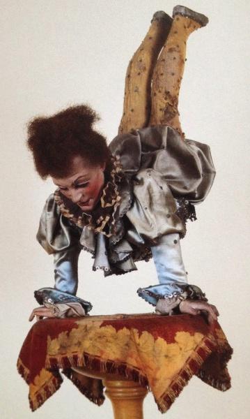 One of many agile acrobats on display.