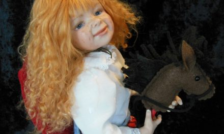 Heartfelt: Barbara Felts feels her dolls reflect reality, faith