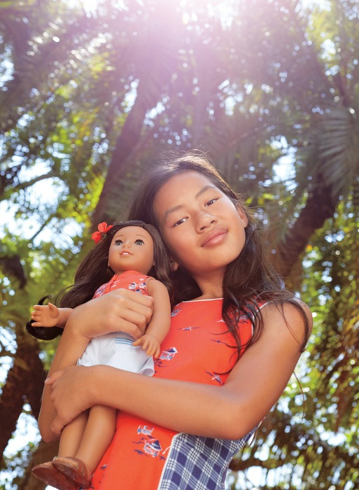 The Nanea doll was released Aug. 21.