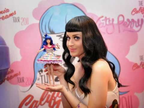Katy Perry and her Mattel Mini Me.