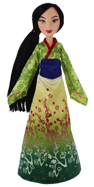 Hasbro's Disney Princess Mulan, desiring to bring honor to her family.