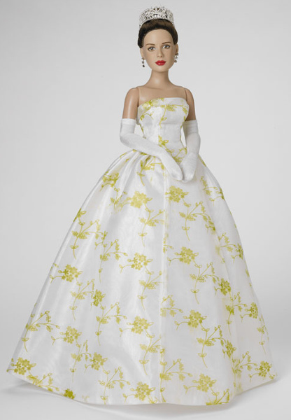 Hathaway captured as a royal princess doll.