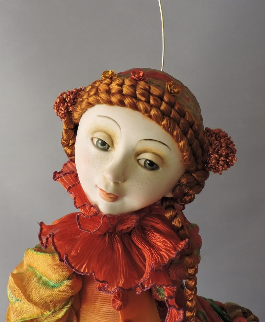 A new doll by Ankie Daanen.