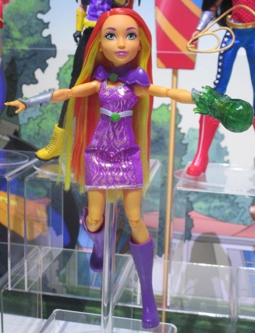 Starfire in her Mattel incarnation.
