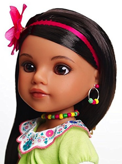 Consuelo, Heart for Hearts doll from Mexico