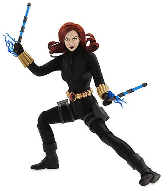 Marvel's Disney Store exclusive version of Black Widow.