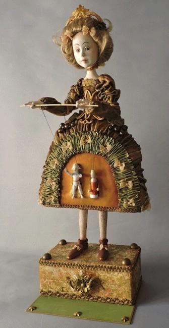 Romantic Puppet-String Skirt