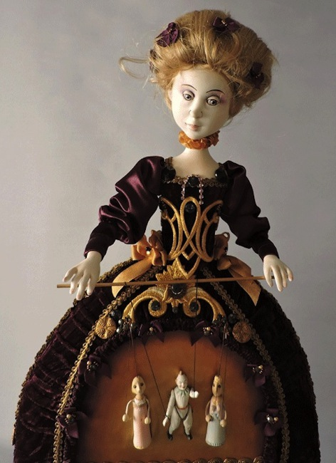 Vienna Puppet-String Skirt