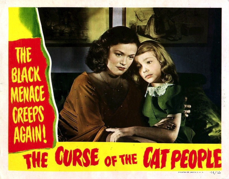 """Curse of the Cat People"" lobby card"