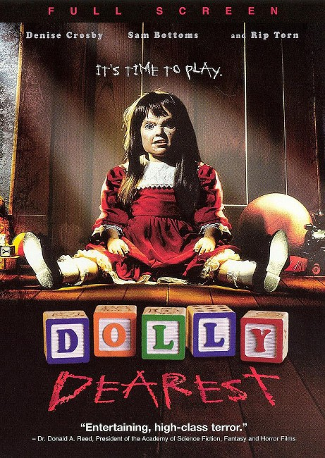 """Dolly Dearest"" demands to be played with."