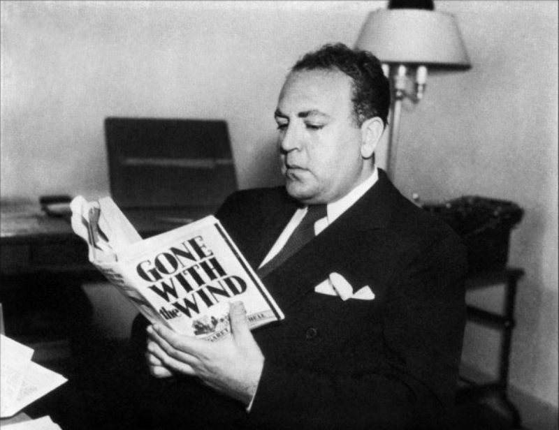 "Val Lewton studying ""Gone with the Wind"""