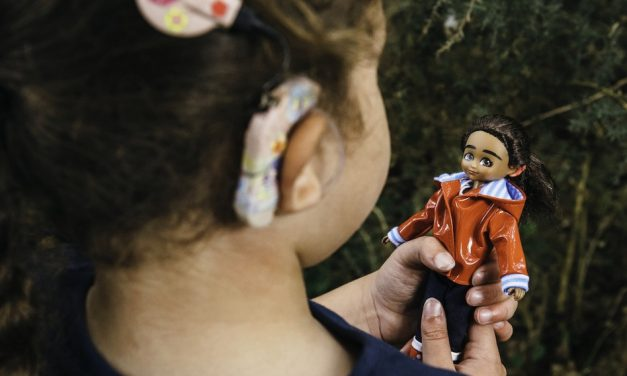 Doll with a Difference: Mia with cochlear implant