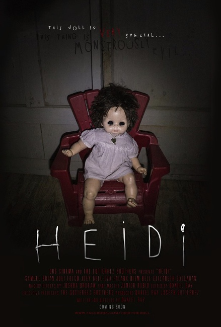 """Heidi"" purports to be a found-footage film."