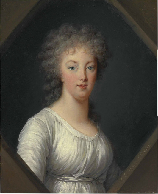 Posthumous portrait of the queen, 1800, untitled, by Vigee le Brun, Metropolitan Museum of Art
