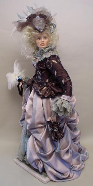 Monica Reo's Marie Antoinette doll
