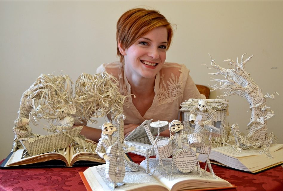 Storyteller: Jodi Brown turns literary characters into 3-D paper figures