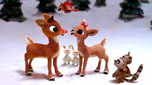 Clarice accepts Rudolph for who he is.