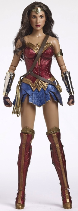 Tonner's newest Wonder Woman design stands 16 inches tall.