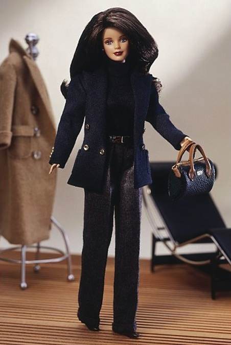 This Ralph Lauren Barbie doll reminds me of Meghan! Courtesy of Mattel