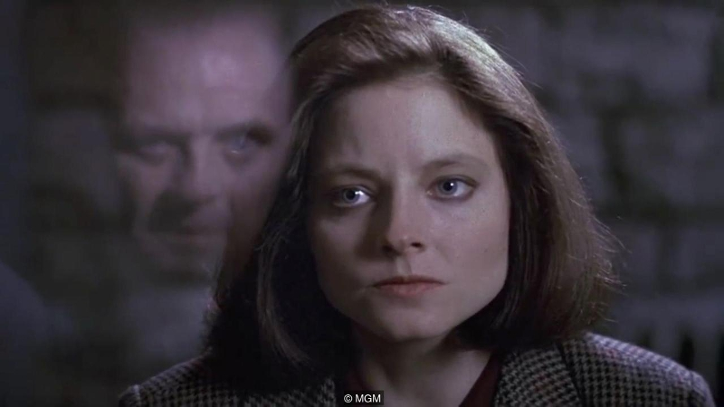 Clarice Starling accepts Hannibal Lecter for who he is … Copyright MGM