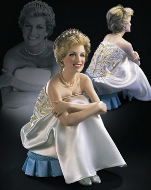 Franklin Mint's homage to Princess Diana